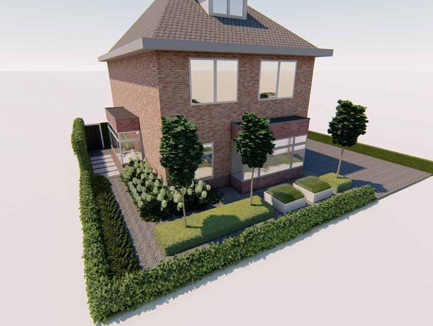3d ontwerp vrijstaande woning 2