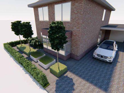 vrijstaande woning 3d ontwerp